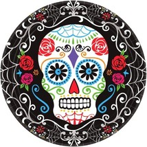 """18 Day of the Dead 7"""" Dessert Cake Plates Halloween Party - $5.69"""