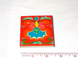 Vintage Psychedelic Matchbox Matches Japan Made Floral Groovy 70's? PopA... - $2.99