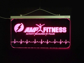 """Personalized Business Logo Sign,  Multi-color changing 3/8"""" Acrylic image 3"""