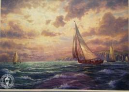 New Horizon 1(MINI) by Thomas Kinkade - $50.00