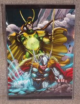 Marvel Thor vs Loki Glossy Print 11 x 17 In Hard Plastic Sleeve - $24.99