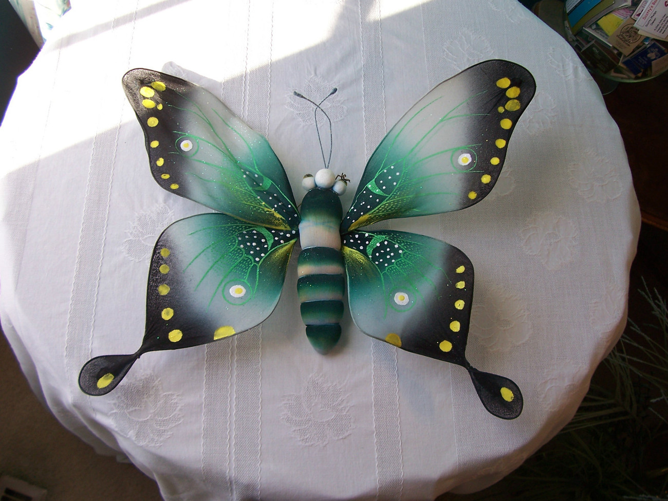 Primary image for Butterfly Decorative Wall or Door Hanging