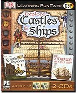 Explore Castles and Ships Fun Pack [CD-ROM] Windows 95 / Windows 98 / Wi... - $9.89