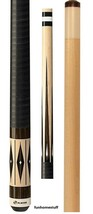 G 3384 Players Bold Graphic 2 Piece Billiard Table Pool Cue Stick + Free Case - $154.95
