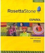 Rosetta Stone Spanish (Latin American) Level 1-5 Set with Audio Companion  - $399.99