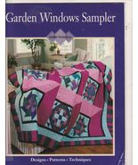 Free Ship Garden Windows Sampler Quilt Patterns... - $8.99