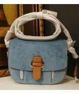 NWT MICHAEL KORS Romy Medium Crossbody Suede Le... - $236.55