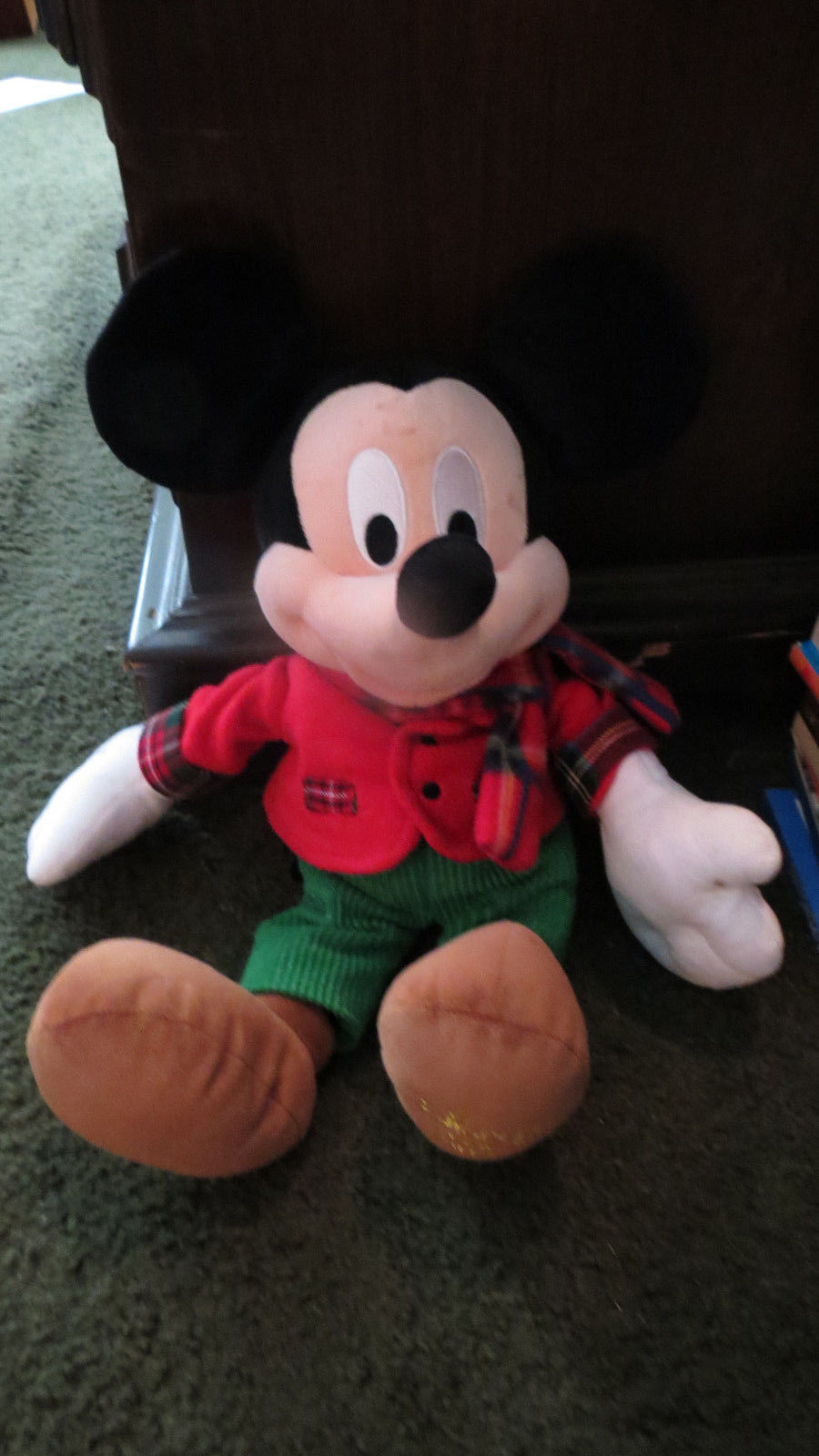 Authentic disney store mickey mouse 17 red and 50 similar items - Disney store mickey mouse ...