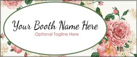 Bonanza Booth Banner| Vintage | Personalized | ... - $4.99