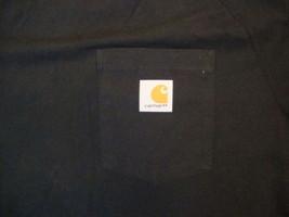 Carhatt Front Pocket Soft Black T Shirt XL - $20.64