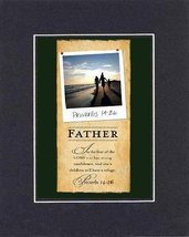 Father Proverbs 14:26 . . . 8 x 10 Inches Biblical/Religious Verses set ... - $9.85