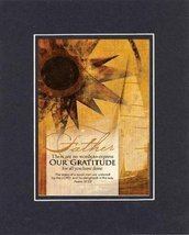 Father - Our Gratutitude for All You Have Done - Psalm 37:23. . . 8 x 10 Inch... - $9.85