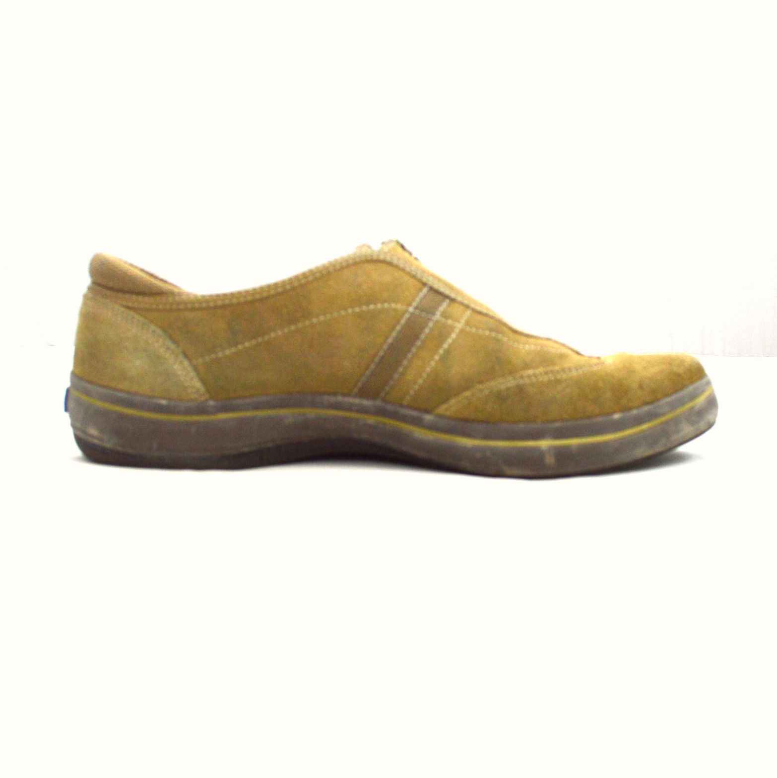 soft brown suede leather keds zip athletic walking