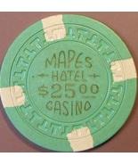 $25 Casino Chip, Mapes, Reno, NV. 1950s. T53. - $12.50
