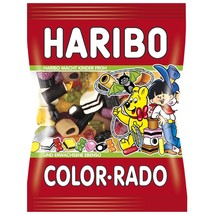 HARIBO Color-Rado Licorice gummies -XL 360g- Without synthetic Coloring - $9.89