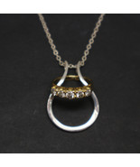 Silver Ring Holder Necklace - $55.00