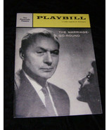 Playbill The Marriage Go Round Charles Boyer Claudette Colbert 2/8/60 Vo... - $16.00