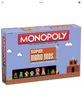 Super Mario Bros.™ Monopoly® Collector's Edition by USAopoly Brand New  - $54.44