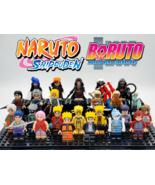 24pcs/set Naruto Boruto Uchiha Obito Sasuke Kakashi Hokage Akatsuki Mini... - $39.99