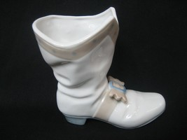 Lego Porcelain Victorian Pirate Boot Shoe Figurine Signed With Buckle Ma... - $14.84