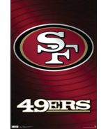 49ers Logo The San Francisco Poster Size 24 x 36 Home Art Wall Decoratio... - $12.99