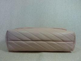 NWT Tory Burch Pink Moon Kira Chevron Convertible Shoulder Bag $528 image 8