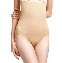 Beige Tummy Control Compression Panties Seamless Comfortable Breathable ... - $16.70