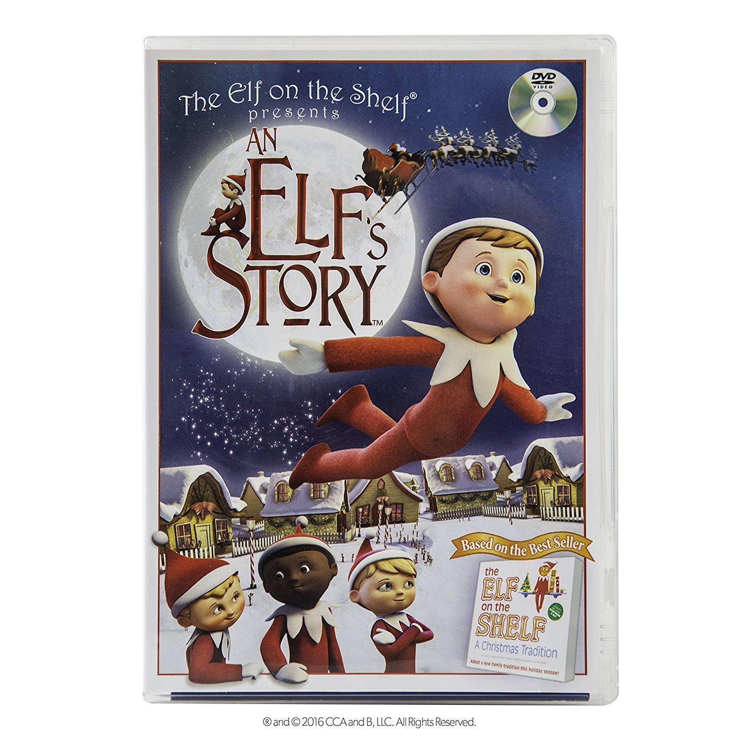 The Elf on the Shelf An Elf's Story DVD