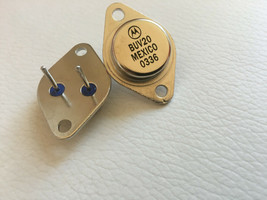 BUV20 50 AMPERES NPN SILICON POWER TO-3 BY MOTOROLA LOT OF 2 - $24.70