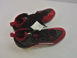 Men's Adidas Crazyquick 2.0 High NCAA Red Athletic Football Cleats Q1643... - $23.79