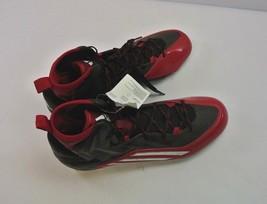 Men's Adidas Crazyquick 2.0 High NCAA Red Athletic Football Cleats Q16437 Sz 13 - $25.49