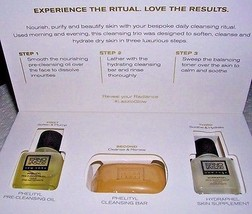 Erno Laszlo Ritual Starter Kit Dry Skin Phelityl Cleansing + Oil + Hydraphel NIB - $36.63