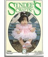 """Syndee's 1994 Precious Pattern #24008 10"""", 16"""" and 21"""" Baby Doll-Uncut - $10.00"""