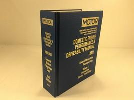 1999-2001 MOTOR Auto Engine Performance & Driveability Manual General Mo... - $124.99