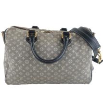 Louis Vuitton Limited Edition Mini Lin Speedy Bandouliere Denim Bag - $367.08