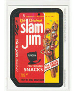 2006 Wacky Packages All New Series 3 (ANS3) **SLAM JIM** #8  Magnet - $1.99