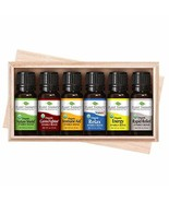 Plant Therapy Top 6 Organic Synergies Set | Essential Oil Blends for Sle... - $68.37
