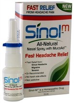 Sinol Headache Nasal Spray 15 Ml - $18.01