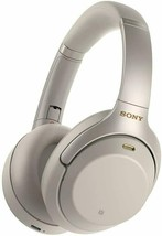 SONY WH-1000XM3 Wireless Noise Canceling Headphones Silver - All Original Parts! - $176.21