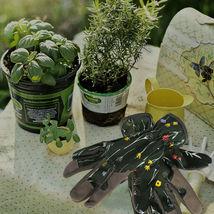 Garden Gloves Protective Grip Fingertips Elastic Wrist Cuff Yard Work Ga... - $12.99