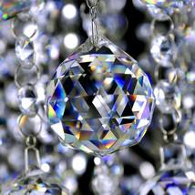 1PCS 50mm Crystal Chandelier Hanging Fengshui Ball Suncatcher Christmas Decor - $8.70