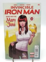 Invincible Iron Man #4 Vol 2 Dec 2016 Mary Jane First Print Marvel Comic... - $6.89