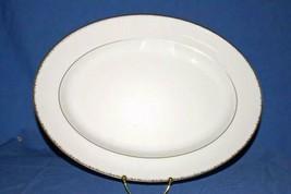 "Wedgwood Platinum Plume Serving Platter 15 3/4"" New - $69.29"