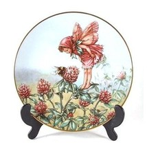 Gresham Cicely Mary Barker The Flower Fairies Red Clover Fairy CP1190 - $36.09