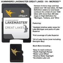 Humminbird LakeMaster Great Lakes Edition Version 4 Updated - microSD™ H... - $124.95