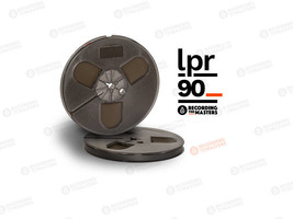 "RTM BASF LPR90 High Output Tape Plastic Reel 1/4"" 1800' 549m Authorised ... - $31.68"