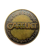 Vintage CAREUNIT We Care For People Brass Token with Serenity Prayer - $8.50