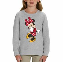 Minnie Mouse Giggle Children's Grey Unisex Sweatshirt - $25.07