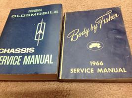 1966 Oldsmobile Models Cutlass 442 Toronado Starfire Service Shop Manual... - $128.87