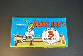 1956 Built Rite Ozark Ike's Baseball, Basketball & Golf Set - $153.45